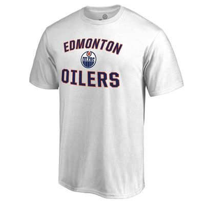 Edmonton Oilers Victory Arch T-Shirt - White