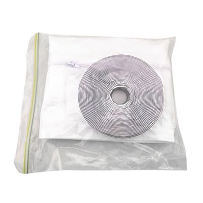 Air Lock Window Seal Plate 400cm Portable Flexible Cloth Sealing Plate Soft Cloth for Mobile Air-Conditioning Units