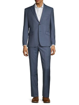 Saks Fifth Avenue Made in Italy Two-Piece Slim Fit Wool Suit