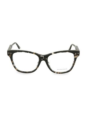 Bottega Veneta 53MM Marble Optical Novelty Glasses