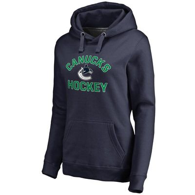 Vancouver Canucks Women's Overtime Pullover Hoodie - Blue