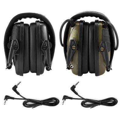 Headphone Electronic Shooting Earmuff Amplification Anti-noise Sound Protective Headset Tactical Hearing Protector Outdoor