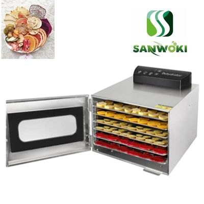 6 layers dehydrated vegetables maker Drying machine Electric Food Dehydrator seafood dehydrating machine Air Drying Machine