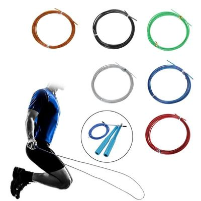 3m Crossfit Replaceable Steel Wire Cable Speed Jump Ropes Skipping Spare Rope 10166