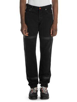 Heron Preston Tape Relax-Fit Jeans