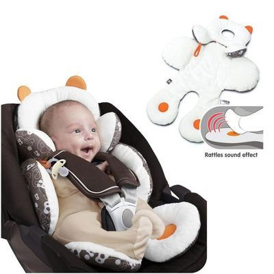 Baby Stroller Body Support Pad Mat Compliance Car Seat Head Body Support Cushion Winter And Summer Universal