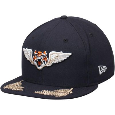 Lakeland Tigers New Era Authentic 59FIFTY Fitted Hat - Navy