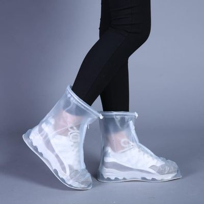 2020 New Outdoor Rain Shoes Boots Covers Waterproof Slip-resistant Overshoes Galoshes Travel for Men Women Kids #YL5