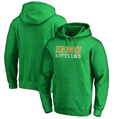 Florida A&M Rattlers Classic Wordmark Pullover Hoodie - Kelly Green