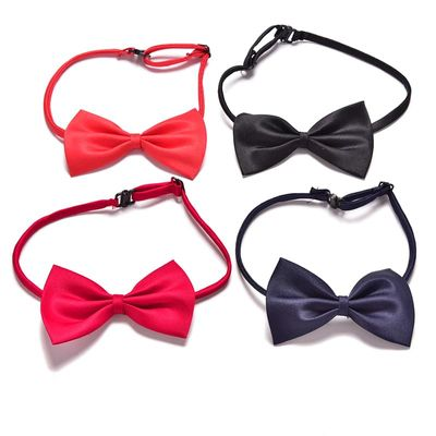 New Arrival Children Adjustable Accessories Cute Kids Boys Bow Tie Solid Color Bowknot For Wedding Lovely Tie Children 2017