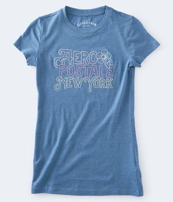 Aeropostale Embroidered Aeropostale New York Graphic Tee