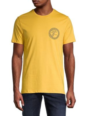 Versace Collection Graphic Logo Cotton Tee