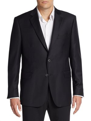 Saks Fifth Avenue Made in Italy Slim Fit Wool Sportcoat
