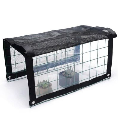 Multifunctional Mini Greenhouse Portable Outdoor Plant Shelves Canopy Rain-Proof Summer Awning BDF99