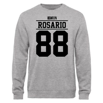 Dante Rosario NFLPA Player Issued Sweatshirt - Ash