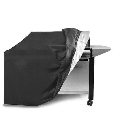Outdoor Barbecue Cover Waterproof and Ultraviolet-proof Garden Dust-proof Furniture Cover Double-Seam Built-In Adjustable Girdle