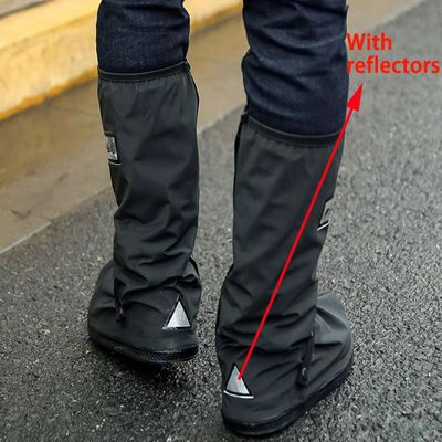 Unisex Rain Shoes Cover Boots Reusable Rain Cover For Shoes Waterproof Motorcycle Rain Shoes Cover Non Slip Boots #1