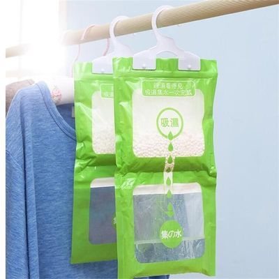 100g Wardrobe Dehumidifier Desiccant Bags Hanging Moisture-proof Absorbent Bags