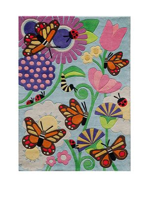 Lil Mo Butterfly Rug