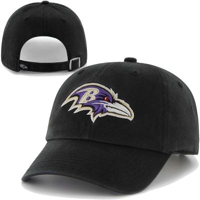 '47 Brand Baltimore Ravens Clean Up Adjustable Hat - Black