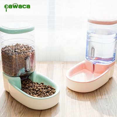 Pet Automatic Water Feeder Food Dispenser Portable Dog Cat Water Drinking Dispenser Feeder for Dog Cat 3.8L Pet Supplies Bowl