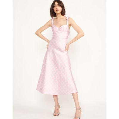 Easton Gingham Midi Dress