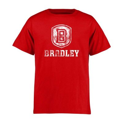 Bradley Braves Youth Classic Primary T-Shirt - Red