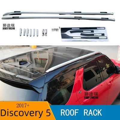2Pcs Roof bars For Land Rover Discovery 5 2017+ 2018 2019 2020 Aluminum Alloy Side Bars Cross Rails Roof Rack Luggage CUV SUV