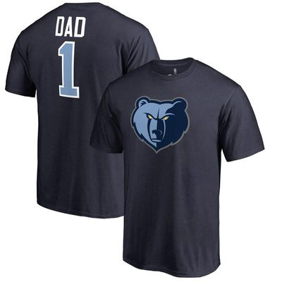 Memphis Grizzlies #1 Dad T-Shirt - Navy