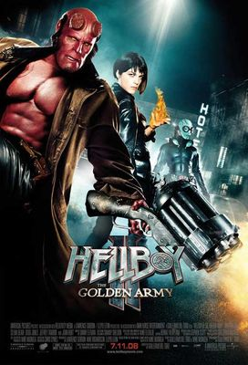 Hellboy 2: The Golden Army - movie POSTER (Style D) (11