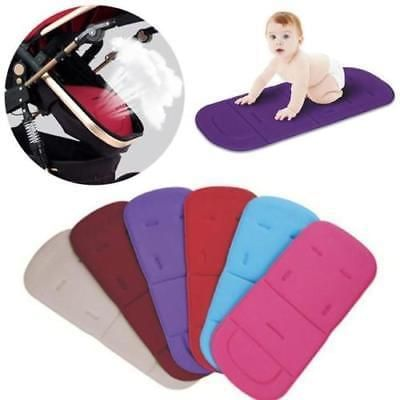 New Comfortable Convenient Universal Baby Kids Solid Soft Stroller Pram Pushchair Car Seat Liner Pad Cushion Mat Seat Liners
