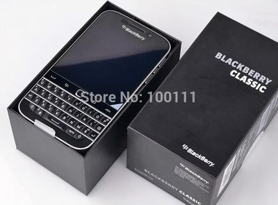 Original BlackBerry Classic Q20 cell Phone unlocked Dual core 2GB RAM 16GB ROM 8MP Camera AZERTY Keyboard, Free Shipping