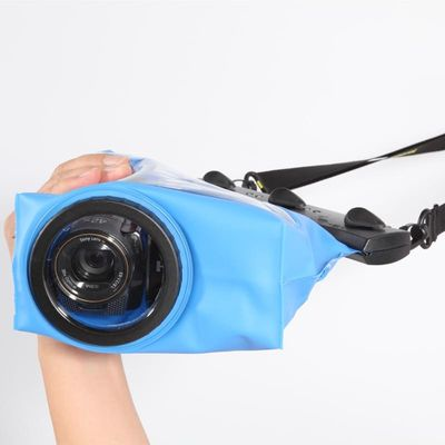 Tteoobl GQ-808C 20M handheld DV waterproof bags video camera protective pouch underwater dry case scuba dive swim cover housing