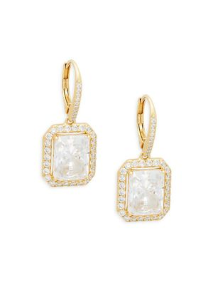 Adriana Orsini Goldtone & Cubic Zirconia Earrings