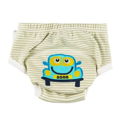 [Stock Promotion ]10pcs/Pack 100% Cotton Training Pants Girl BoyDesigns Baby Trainers Baby Wears Toilet Potty Trainers