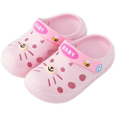SAGACE Charm Cartoon Cat Kids Boy Girl Beach Sandals Slippers Shoes Toddler Baby Unisex Kids Lovely Non Slip Slipper Sandals