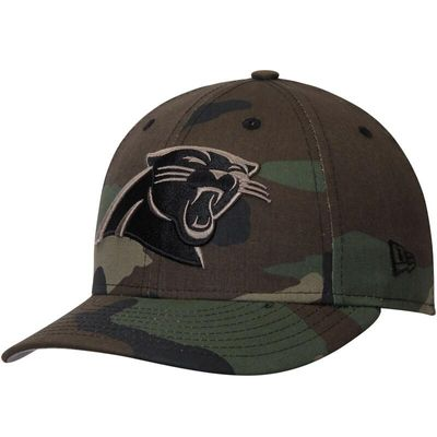 Carolina Panthers New Era Woodland Camo Low Profile 59FIFTY Fitted Hat