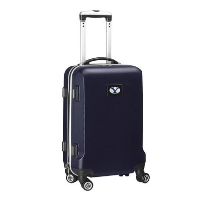 BYU Cougars 20In 8-Wheel Hardcase Spinner Carry-On - Navy