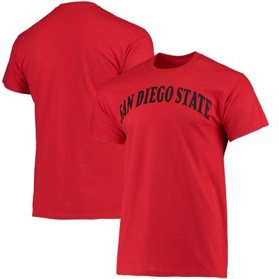 San Diego State Aztecs Fanatics Branded Basic Arch T-Shirt - Red