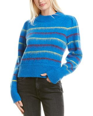 Tanya Taylor Sable Alpaca & Wool-Blend Sweater
