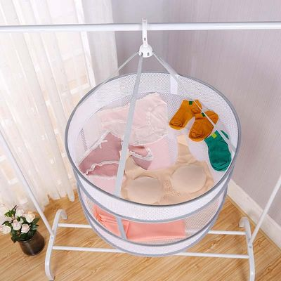 Windproof Clothes Drying Net For Sweater Bra Underwear Hanging Drying Rack Laundry Basket Mesh Folding Nets Flat Out to Dry