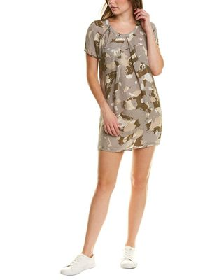 TSEsay Pleated Silk Mini Dress