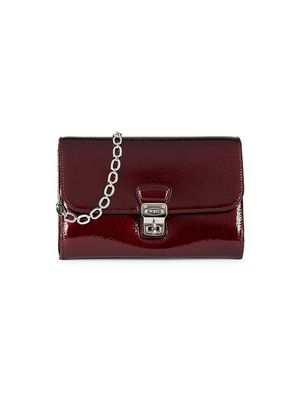 Tod's Mini Patent Leather Crossbody Bag