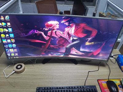 Original New Curved LCD panel M350DVR01.0  2K&144Hz&2000R  with HDMI&DisplayProt controller board For DIY Acer Z35 Game PUBG LOL