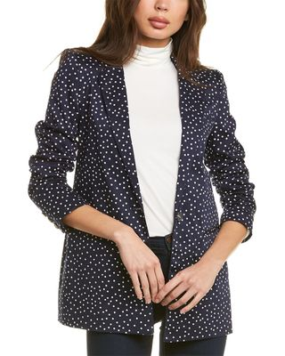 Court & Rowe Scatter Dot Blazer