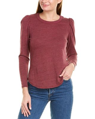 Chaser Puffed Shoulder Top