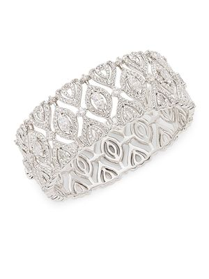 Adriana Orsini Crystal Bangle Bracelet