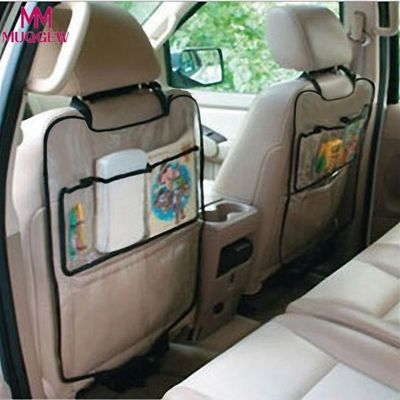 2019 New Universal 1PC Car Auto Seat Back Protector Cover Car Interior Children Kick Bag Accessories Car Styling