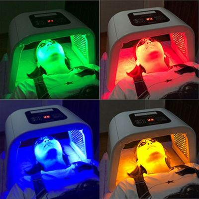 Low level led therapy skin rejuvenation 4 color pdt light anti-aging wrinkle removal beauty device