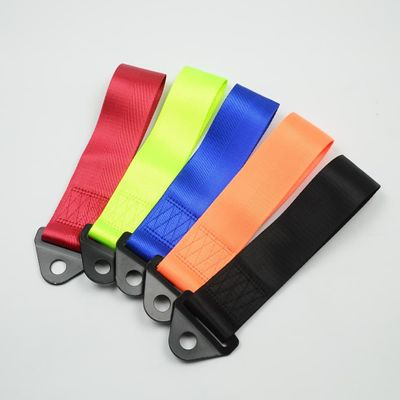 JDM trailer Tow Strap Universal High Quality Racing Car Tow Strap / Tow Ropes / Hook / Towing Bars3 straps style car styling